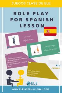 Juego teatral para clase de español. Actividad para mejorar la expresión oral para clase de español. #spanishteacher #profedeele #clasedeespañol