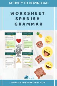 Fichas con emojis en clase de español. Trabajando con el subjuntivo. Gramática en clase de ELE. #claustrodeig #teachmoreSpanish