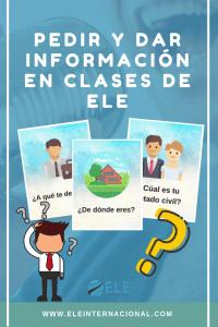 Información en clases de ELE. Actividad para trabajar la información especial. Expresión oral. #profedeele #spanishteahcer