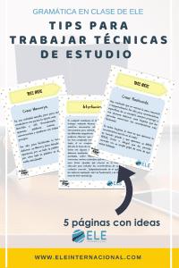 Técnicas de estudio. Ideas y recursos. #profedeele