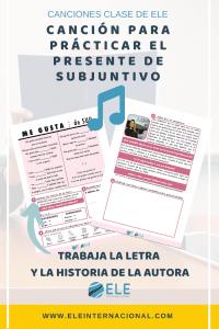 Trabajar el presente de subjuntivo. Ideas para clase de español. Comprensión auditiva
