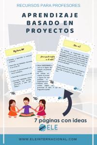 Aprendizaje basado en proyectos. Técnicas e ideas para tus clases.