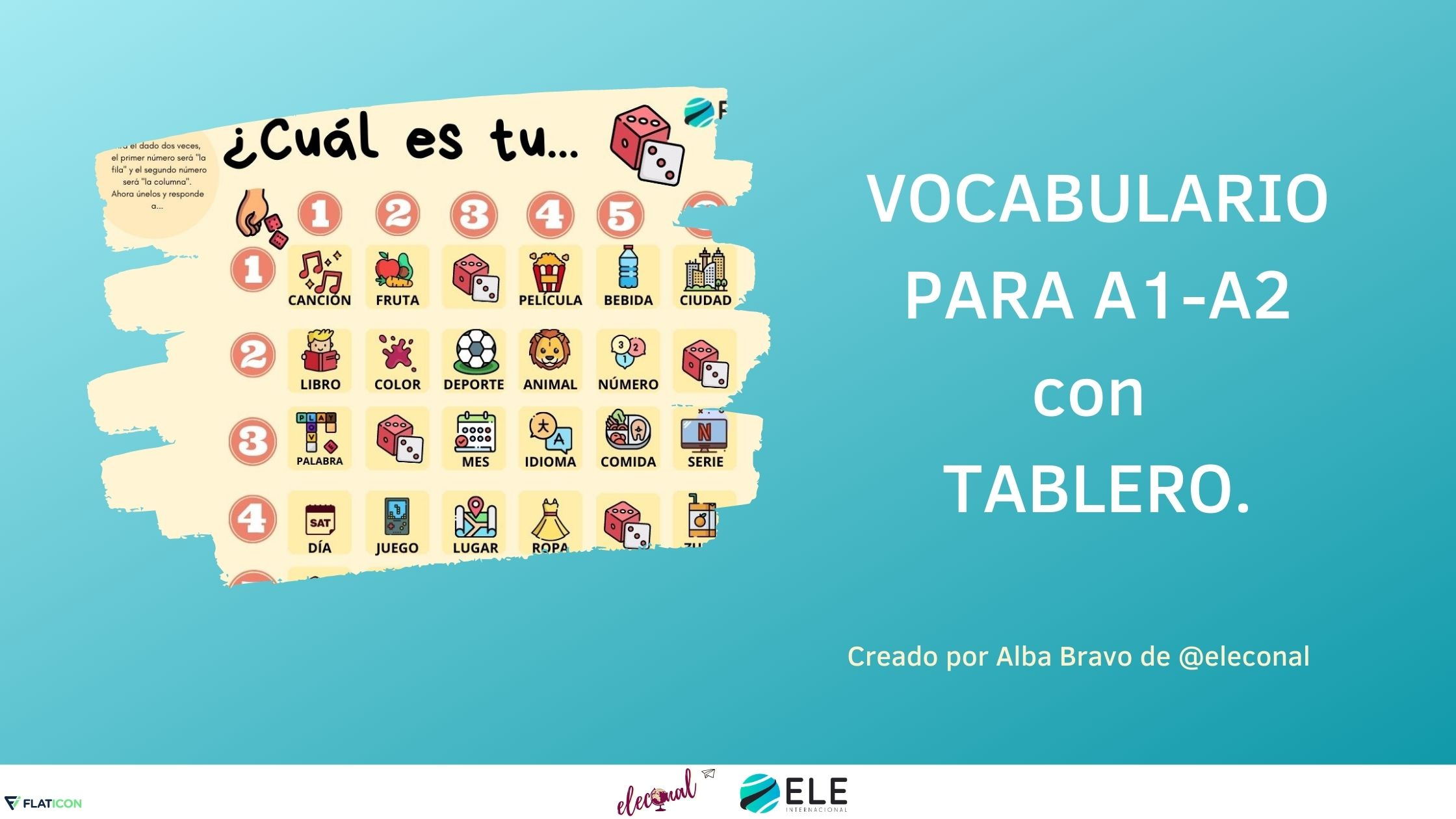Tablero de vocabulario