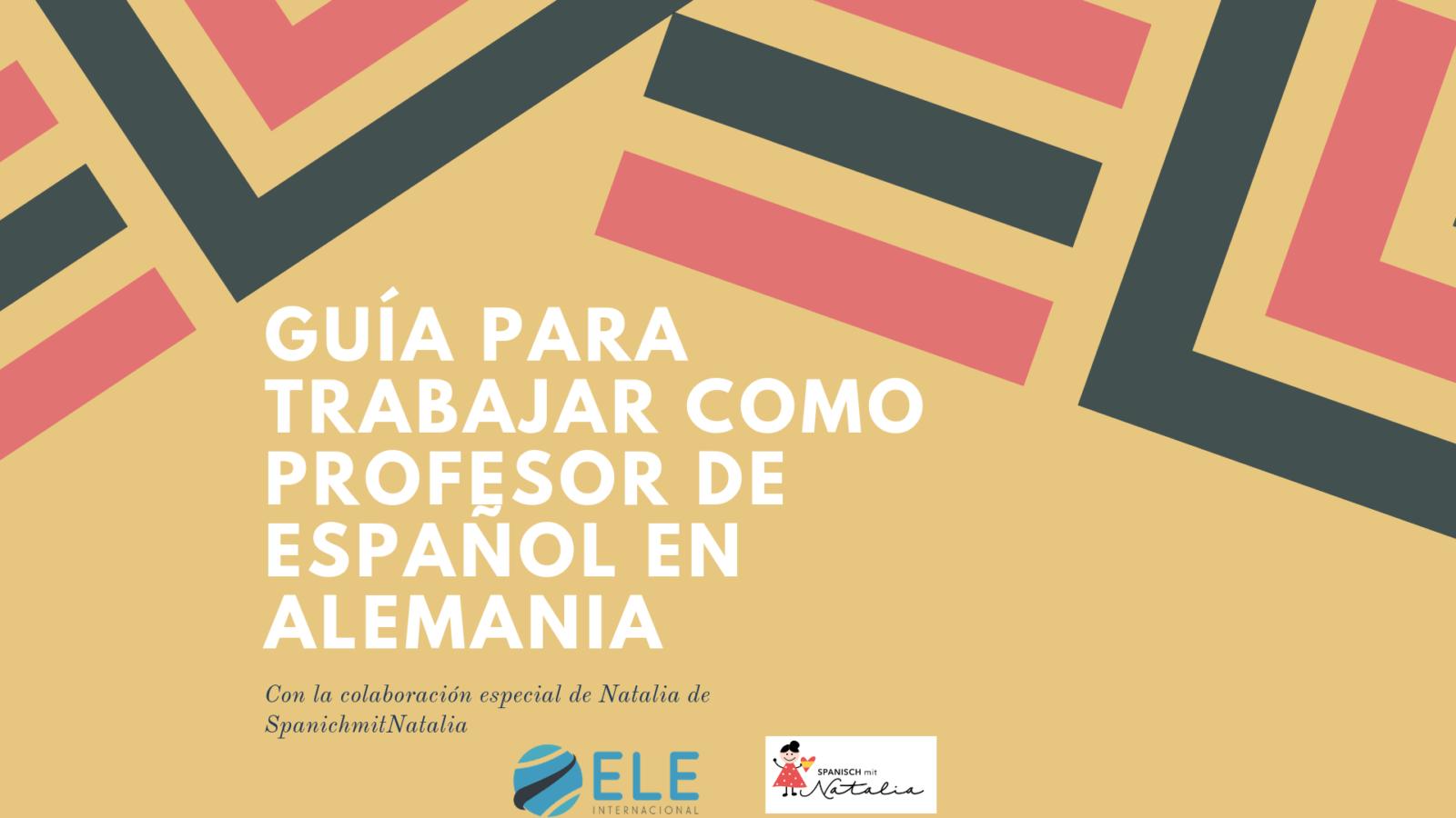 d6d9e6319fe6 Trabajar como profesor de español en Alemania - ELEInternacional