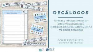 Actividades para trabajar vocabulario en clase de ELE. Actividades para clase de español. #pofedeele #spanishteacher #teachmorespanish