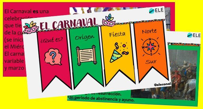 Actividad sobre el carnaval