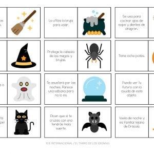 Actividades rápidas para Halloween. #juegos #spanishteacher