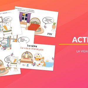 Verbos de la rutina diaria en español
