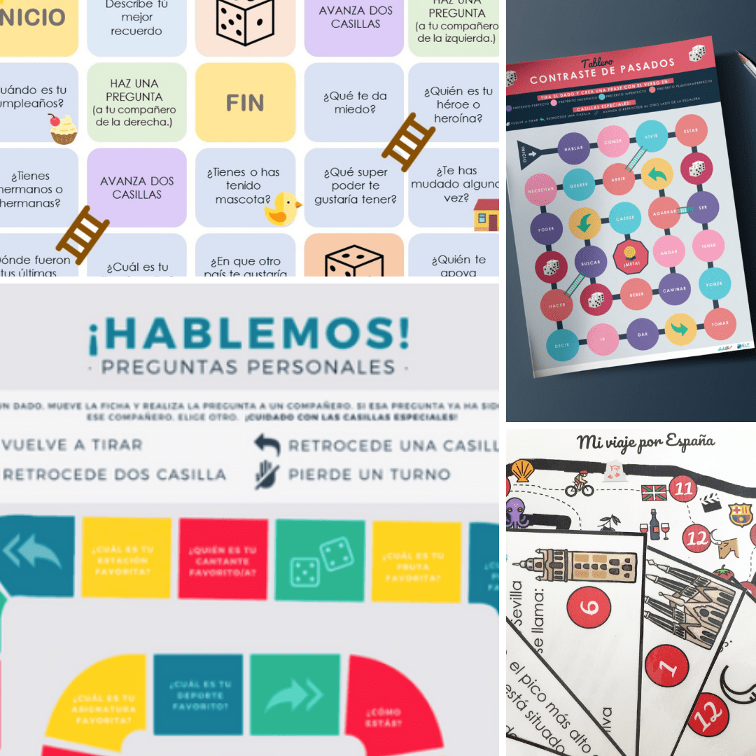 [PACK] Los tableros [MATERIAL COMPLETO]