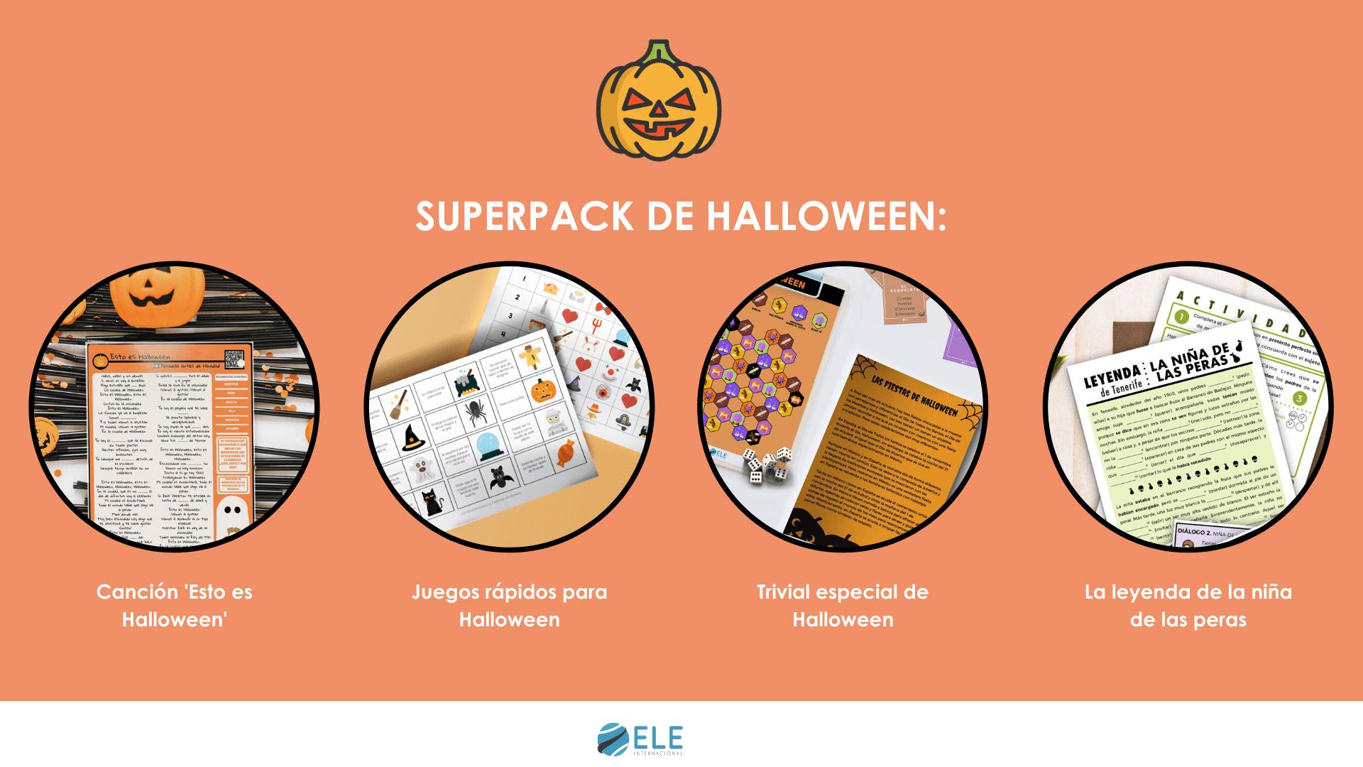 Superpack de halloween