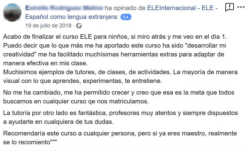 Screenshot_2019-06-04 ELEInternacional - ELE - Español como lengua extranjera - Opiniones
