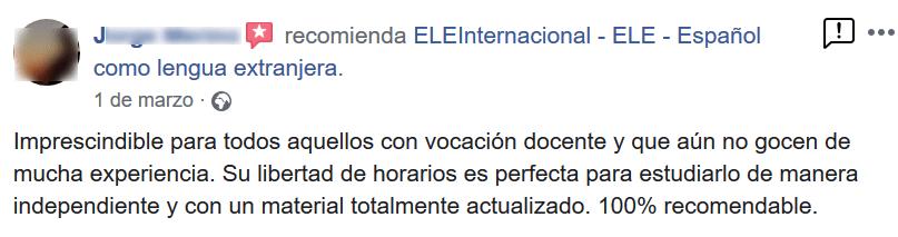 Screenshot_2019-06-04 ELEInternacional - ELE - Español como lengua extranjera - Opiniones(1)
