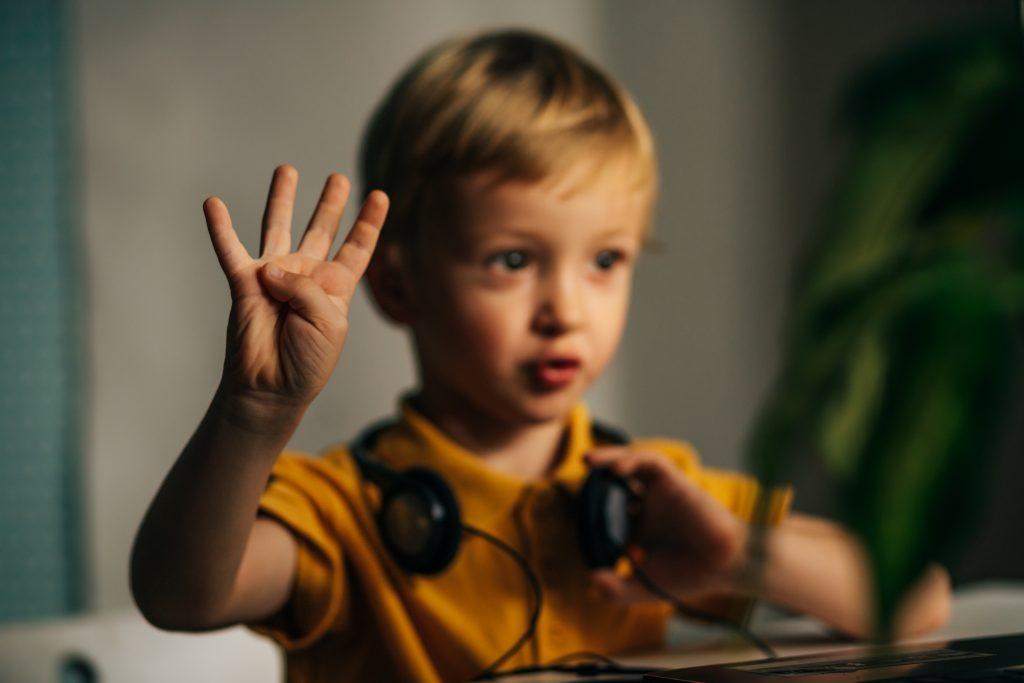 Dinámicas virtuales con alumnos pequeños