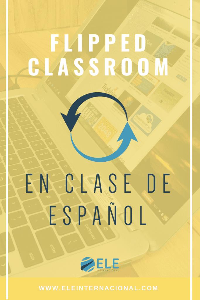 Aplicaciones clase invertida. Tics en clase de ELE. Ideas flipped classroom apps #spanishteacher #profesordeespañol #profedeele #teachmorespanish