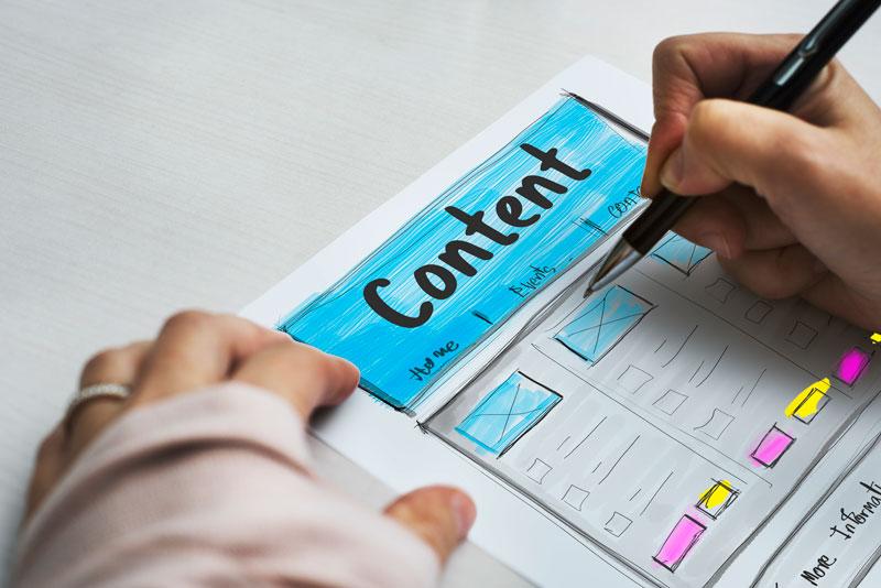Plasmar en papel todos los elementos del blog