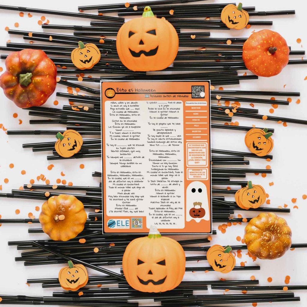 Canción para Halloween y actividades