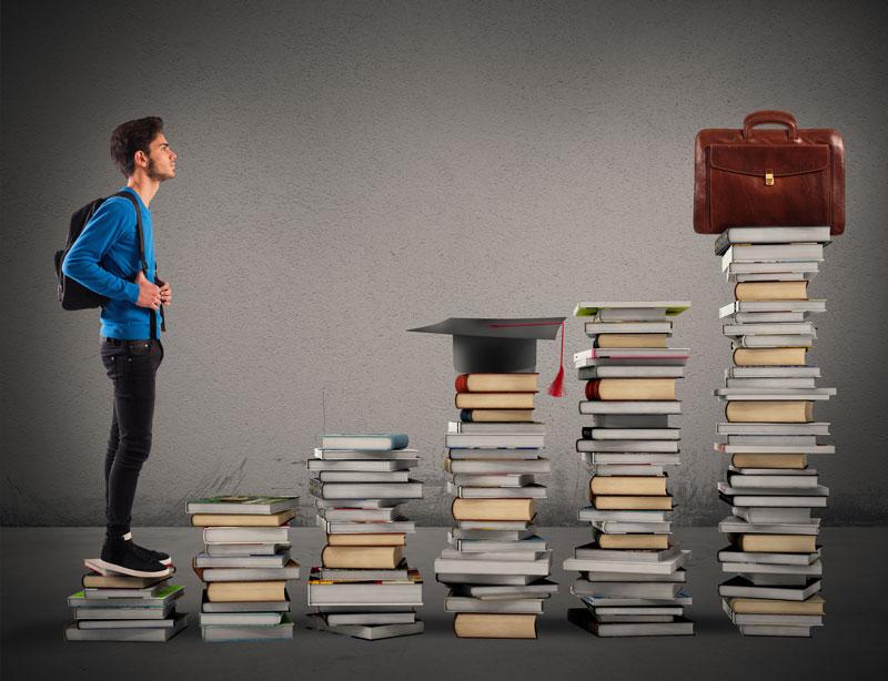 Alumno en el proceso del aprendizaje autónomo