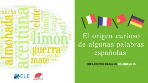 origen de palabras españolas