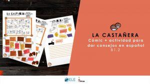 Actividades para mejorar la comprensión lectora. Ideas para clase de ELE. La castañera. #profedeELE #Spanishteacher #ClaustrodeIG
